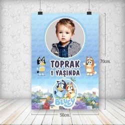 Bluey Poster 50x70