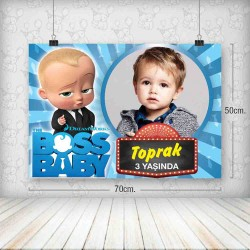 Boss Baby 2 Poster 50x70