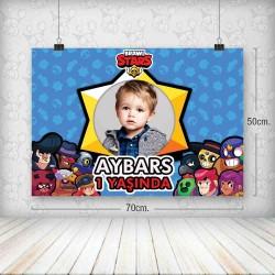 Brawl Stars Poster 50x70