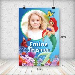 Deniz Kızı Poster 50x70
