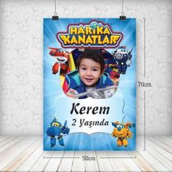 Harika Kanatlar Poster 50x70