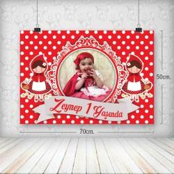 Kırmızı Başlıklı Kız Poster 50x70