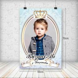 Kral Taç Altın Poster 50x70