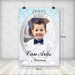 Kral Taç Gümüş Poster 50x70