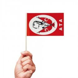 Çıtalı Bayrak 100lü Ata