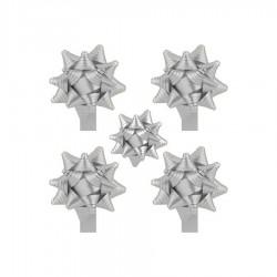 Kutup Yıldızı Hediye Paketi Süsü Mat Metalik 24 Ad