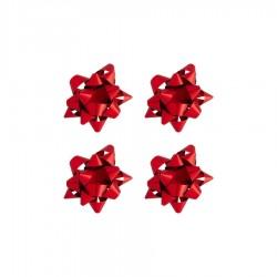 Paket Süsü Kırmızı Mat Metalik 100'lü