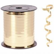 Metalik Altın Renk Rafya 8 mm x 200 m