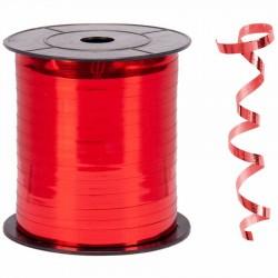 Metalik Kırmızı Renk Rafya 8 mm x 200 m