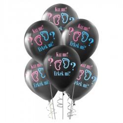 Cinsiyet Partisi Baskılı Balon 100'lü
