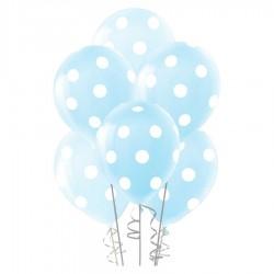 Çepeçevre Açık Mavi Puantiyeli Balon 100'lü