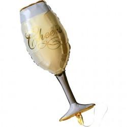 Şampanya Kadeh Folyo Balon 92 cm