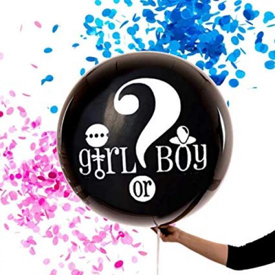 Cinsiyet Belirleme Partisi Balonu 90 cm