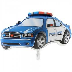Polis Arabası Mavi Grabo Folyo Balon