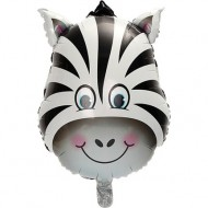 Safari Zebra Balon