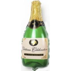 Şampanya Şişesi Şekilli Folyo Balon 90 cm