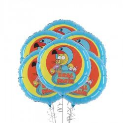 Kral Şakir Folyo Balon 45 cm 5'li