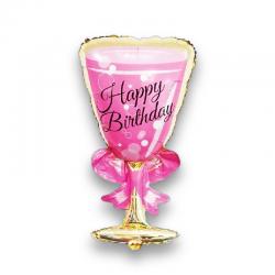 Şampanya Mutlu Yıllar Folyo Balon 103 cm