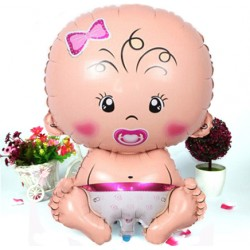 Baby Girl Folyo Balon 55 cm
