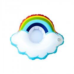 Rainbow Şişme İçecek Simidi