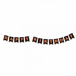 Happy Birthday Fosforlu Harf Afiş