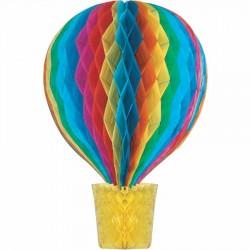 Hava Balonu Rengarenk Petek Süs