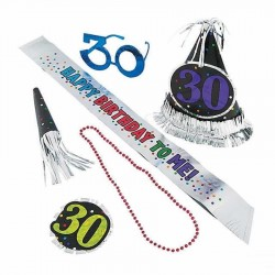30 Yaş Doğum Günü Kutlama Seti