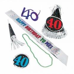 40 Yaş Doğum Günü Kutlama Seti