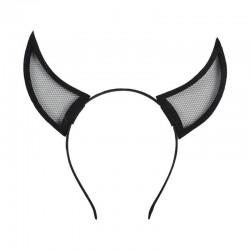 Cadılar Bayramı Boynuzlu Şeytan Taç