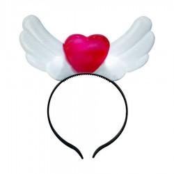 Kalp Şekilli Işıklı Taç
