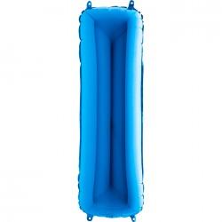 I Harf Grabo Mavi Folyo Balon 102 cm