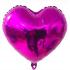 Fuşya Kalp Folyo Balon 46 cm