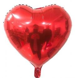 Kırmızı Kalp Folyo Balon 86 cm