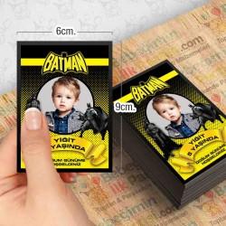 Batman Temalı Kişiye Özel Magnet 10 Adet