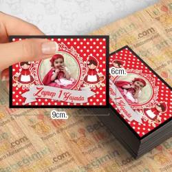 Kırmızı Başlıklı Kız Özel Magnet 10 Adet