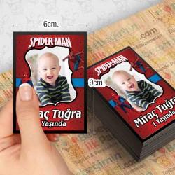 Spiderman Özel Magnet 10 Adet