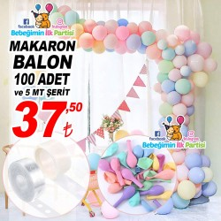 5 Mt Şerit ve Makaron Balon