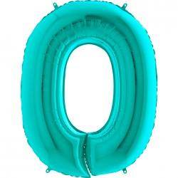 0 Rakam Grabo Tiffany Folyo Balon 102 cm