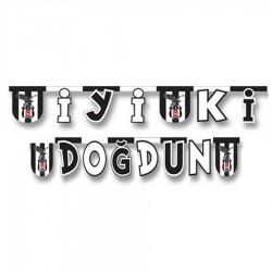 Beşiktaş İyi ki Doğdun Harf Afiş