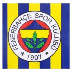 Fenerbahçe Kağıt Peçete 33x33 cm 20'li