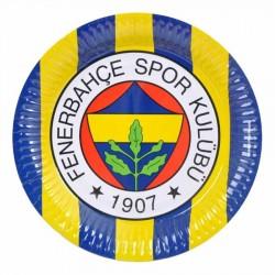 Fenerbahçe Karton Tabak 23 cm 8'li