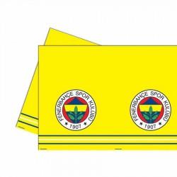 Fenerbahçe Plastik Masa Örtüsü 120x180 cm