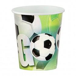 Futbol Partisi Karton Bardak 8'li