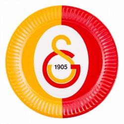 Galatasaray Karton Tabak 23 cm 8'li