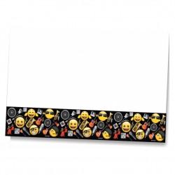 Genç Emoji Plastik Masa Örtüsü 120x180 cm