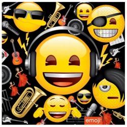 Genç Emoji Kağıt Peçete 33x33 cm 20'li