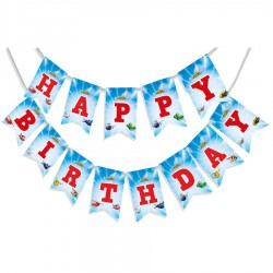 Harika Kanatlar Happy Birthday Harf Afiş