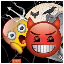 Korku Emoji Kağıt Peçete 33x33 cm 20'li
