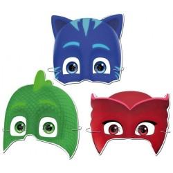 PijaMaskeliler Lisanslı Kağıt Maske 6'lı