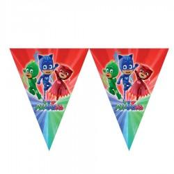 PijaMaskeliler Lisanslı Üçgen Bayrak Afiş